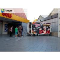 China Mobile 7D Movie Theater For Trailer Convenient In Shopping Mall Gate factory