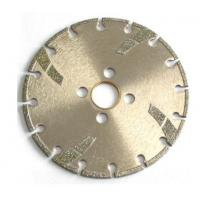 China High Sharpness Diamond Cutting Blade , Concrete Cutting Blades For Angle Grinder on sale