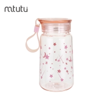 China Healthy Material 115g 450ml PC Portable Water Bottles factory