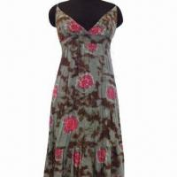 Buy cheap 100% cotton sundress, various sizes are available from wholesalers