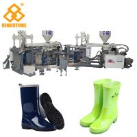 Buy cheap Automatic Rain Shoes Making Machine Production Line , Rotary Injection Molding Machine from Wholesalers