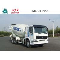 Buy cheap 10 Wheeler HOWO Concrete Mixer Truck LHD Euro IV Engine For Construction Site from wholesalers