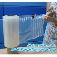 China air protection inflatable shockproof bag, drink ice bags, wine gift, portable wine bags factory