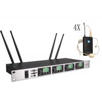 One with four Wireless Meeting Room Microphone System Adopt CPU Control SR-6004