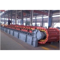 China Mining Apron 1000tph Conveying Hoisting Machine Chain Plate Conveyor For Hard Rock factory