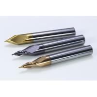 China Tungsten Steel Coated Hot Melt Pressing Wheel End Mill Cutter factory