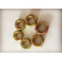 China Chinese Standard M18 Hexagon Thin Nuts Anti Corrosion For Bolts And Screws factory
