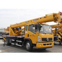 China XCT8L4 yellow truck mounted mobile crane For Lifting Operation factory
