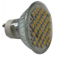 Buy cheap GU10 48pcs leds 3528 SMD glass cup light home use led spot light bulb 85-265v AC from Wholesalers