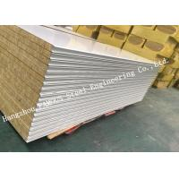 China Fst Construction Easy Installation Rock Wool Sandwich Panels Water Proof Wall Systems on sale