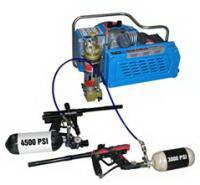 3.0kw 4hp electric powered scuba air compressor , 20 minutes for 6L tank