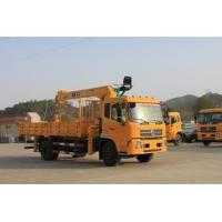 China 1T 16T straight arm lorry-mounted crane truck crane sell factory