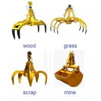 Buy cheap OEM crab grab bucket crane construction machinery spare parts supplier from Wholesalers