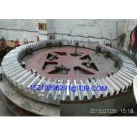 Buy cheap High Precision Steel Spiral Bevel Gears For Machine Parts , Helical Tooth Gears from Wholesalers