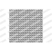 Buy cheap Fireproof Plastic Textured Wall Panels For Indoor Bathroom 500 x 500mm from Wholesalers