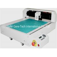 Buy cheap High Frequency Automatic Label Die Cut Sticker Machine HPGL Format 346*516mm from wholesalers