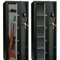 China Best Digtal Gun Safe Cabinet For Rifle Storage on sale
