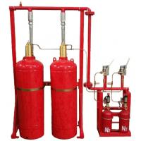 China Red Cylinder FM200 Gas Suppression System Easy And Convenient Installation on sale
