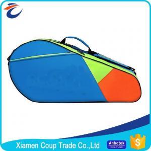 Buy cheap Adjustable Shoulder Strap Custom Sports Ball Bag Durable Zipper For Badminton from wholesalers