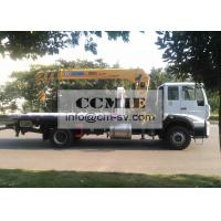 China Telescopic Truck Mounted Crane Good Toughness With Platform Xcmg Sq8sk3q factory