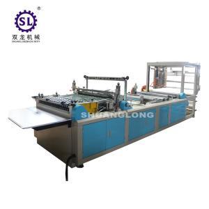 China Zipper Head Feeding Zip Lock Bag Making Machine Multifunctional Worktable factory