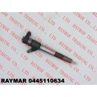 BOSCH Genuine common rail injector 0445110375, 0445110634 for RENAULT 8200912052, 7485121807, OPEL 93168212, 4420518