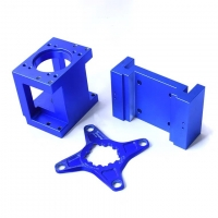 China Anodized Aluminum Cnc Machining Services 0.005mm Tolerance Electroplating factory
