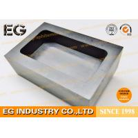 Buy cheap Melting Casting Refining Graphite Ingot Mould , High Purity Graphite Die Mold from Wholesalers