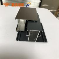 China New design different surface treatment aluminum extrusion profiles for windows and doors factory