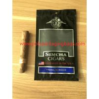 Buy cheap Resealable Ziplock Cigar Humidor Bags Through Window Convenient To Carry from Wholesalers