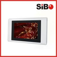 7 Inch Wall Surface Aluminum Android Touch Panel With Ethernet USB Host