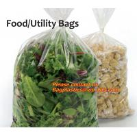 China Food bags, Utility bags Refuse SACKS, Bin Liners, Nappy bags, Draw string & Draw tape bags factory