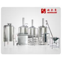 China Efficient Mini Beer Brewing Equipment 800L Commercial Brewing Equipment factory