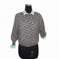 Buy cheap Ladies sweater, made of 100% wool from wholesalers