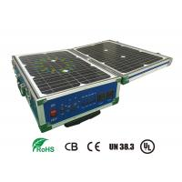 China Lifepo4 12V 60AH Storage Battery Systems With Solar Panel For Portable UPS factory