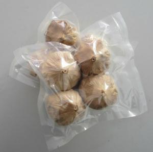 China Black garlic 4pcs packing (Chinese elephant garlic) factory