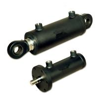 Buy cheap 10 ton custom made double acting piston hydraulic cylinder for crane from Wholesalers