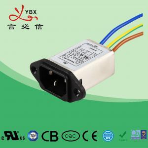 China Low Pass Emi Rfi Noise Filter 10A 120V/250V Environmental Temperature 40°C factory