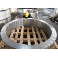 China DIN 34CrNiMo6 Hot Rolled  Forged Steel Rings Hardness 30HRC - 40HRC Customized , Round Steel Blanks factory