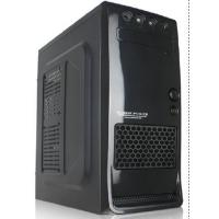 Buy cheap Mid Tower Computer Cases with Net and 4 USB Port, Black Structure for Gaming Model from Wholesalers