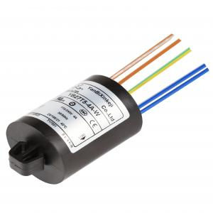 China 250V 4A, 6A plastic EMI noise filter with wire-lead for white household appliance factory