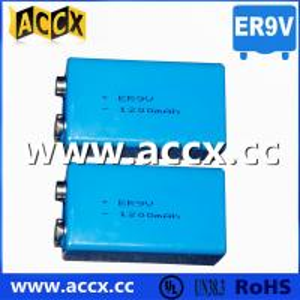 China smoke detector battery ER9V 1200mAh factory