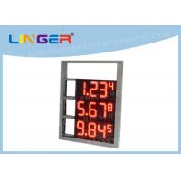China Multi Functional Digital Gas Price Signs High Brightness OEM / ODM Available factory
