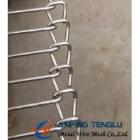 China Stainless Steel Wire Ladder Belt, Single Loop End Belt Type, for Food Processing factory