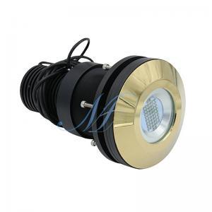 Thru Hull Ocean LED Light Underwater Marine Lamp 120W RGB Color