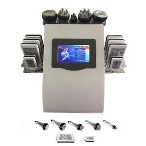 Buy cheap Portable 6 In 1 Cavi - lipo Ultrasound Cavitation Machine 40K Cavitation RF Multipolar Tripolar Vacuum Laser from Wholesalers