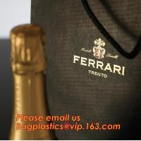 China luxury paper carrier bag wholesale paper bags with handle, decorative luxury recyclable fashion paper bags with your own factory