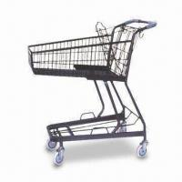 China Shopping Cart with Steel Body and Solid Wheel, Can Load More Heavy Things factory