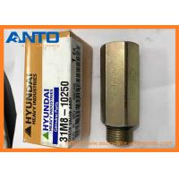 Buy cheap 31M8-10250 CHECK VALVE Applied To Hyundai R55-9 R80-9 Excavator Parts from Wholesalers