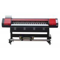 China 1.8M Eco Solvent Large Format Digital Printing Machines With Single Head on sale
